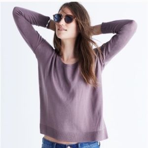 Madewell Northlight Pullover Sweater Fig